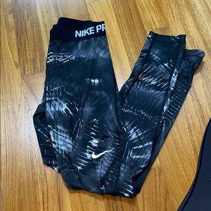 Nike Pro fleece lined leggings